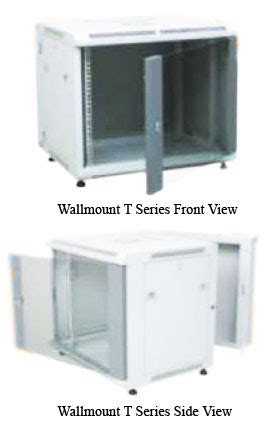 Wallmount 8u Depth 500mm Single Door pt solusi mitra mandiri