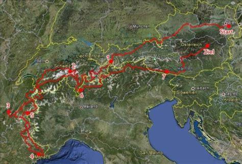 Youtube Motorradtouren Alpen by Alpentour 2012