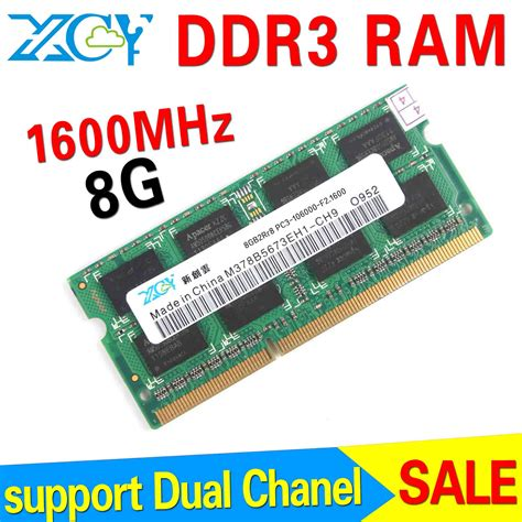 Ram 8gb Ddr3 Untuk Notebook wholesale ddr3 8gb ram notebook memory pc ddr3 ram ddr3 1600mhz sodimm 1 5 power in memory from