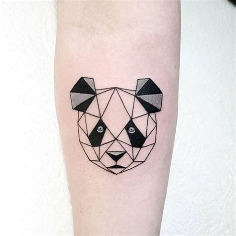 tattoo panda geometric 9 spectacular panda tattoos with images styles at life