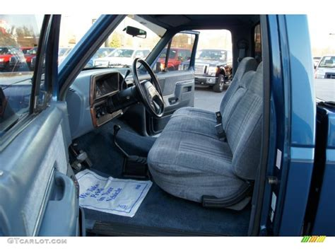 Ford Truck Interior Paint by Blue Interior 1989 Ford F150 Regular Cab 4x4 Photo
