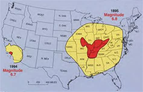 is another new madrid on the way? earthquakes seem to be