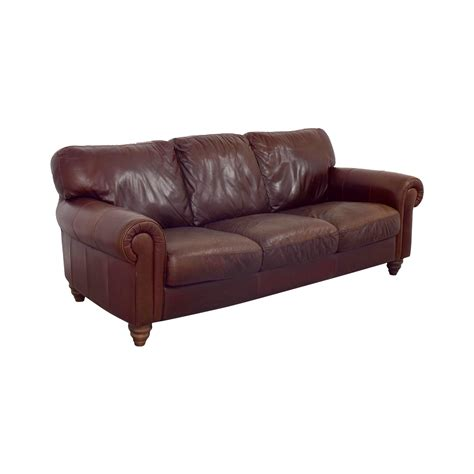 Brown Leather Sofa Cushions 90 Brown Three Cushion Leather Sofas