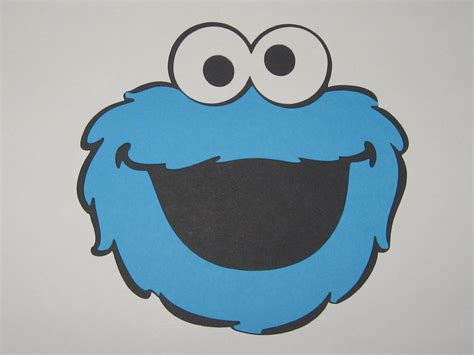 images for gt cookie monster face cut out