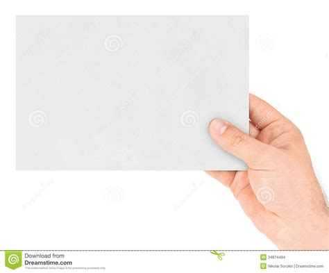 How To Make A Paper Credit Card - paper card in stock images image 34874494