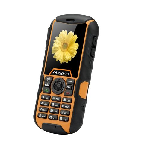 best rugged cell phone huadoo h1 ip68 rugged cell phone yellow buynowu wholesale electronics