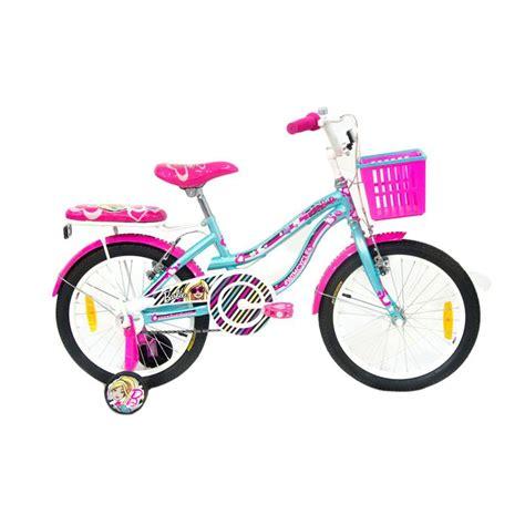 Kaos Anak Sepeda Pink jual wimcycle ctb sepeda anak biru pink harga kualitas terjamin blibli