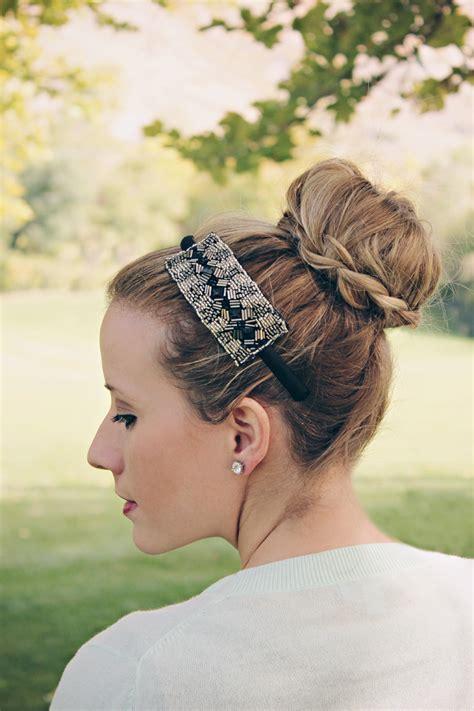 braided ballerina bun twist  pretty