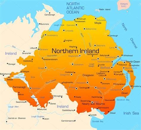 where are the northen northen ireland stock vector 169 olinchuk 2081319