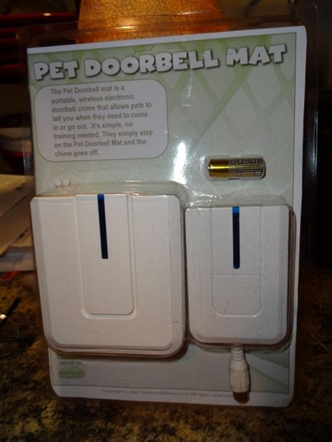 Doorbell Mat by The Pet Doorbell Mat