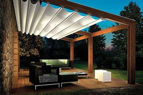 Outdoor Shade Awnings by Innovative Canopy And Pergola With Retractable Roof