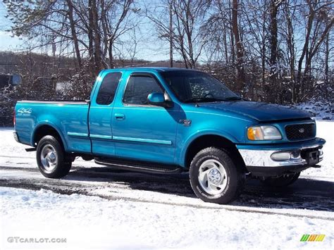 1998 ford f150 1998 teal metallic ford f150 xlt supercab 4x4 5054692