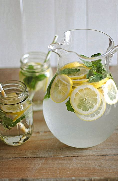Lemon Cucumber Mint Detox Water Weight Loss by Eat Yourself 187 Lemon Water With Fresh Mint