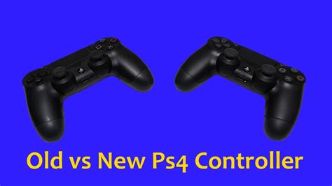 ps4 controller vs new