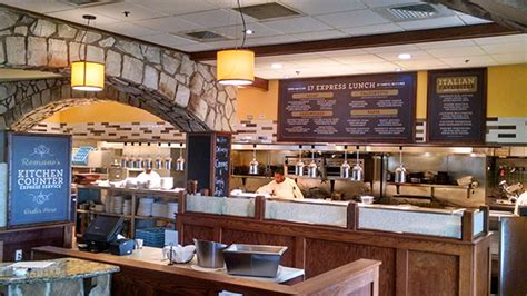Fast Casual Kitchen Layout by Romano S Macaroni Grill Debuts Fast Casual Lunch Format