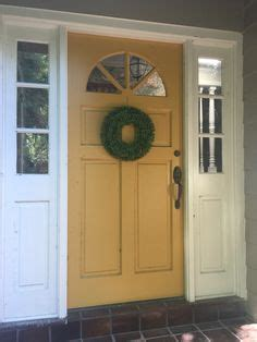mustard front door mustard yellow front door quot golden leaf quot by behr home