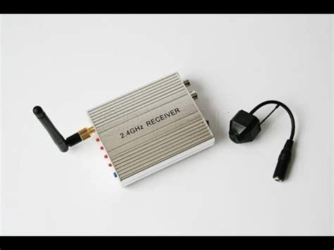 kit 2.4g wireless camera 2.4 ghz receiver spy.eu youtube