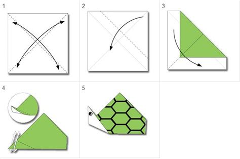 How To Make An Origami Turtle Step By Step - pin by tatjana topalov cvetinovic on paper crafts