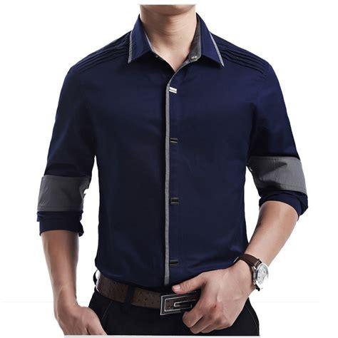 new 2017 autumn cotton dress shirts high quality
