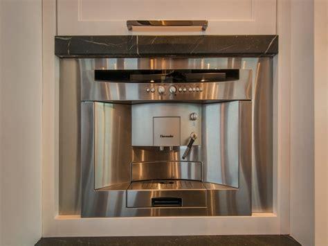 Built In Coffee Machine Design Ideas