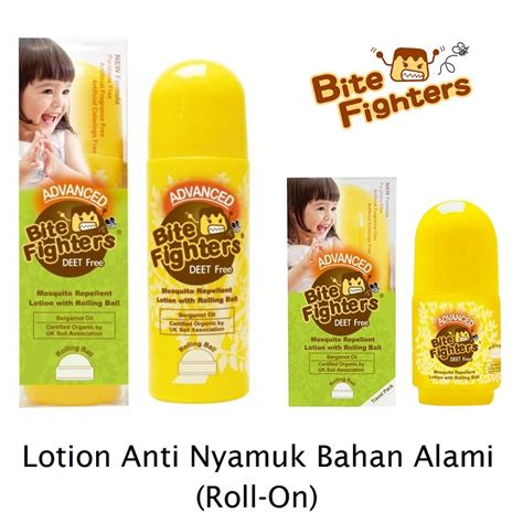 Lotion Anti Nyamuk Bite Fighters Best Product advanced bite fighters mosquito repellent lotion with rolling
