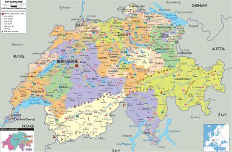della svizzera italiana mappa della svizzera cartina della svizzera