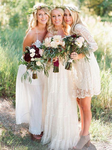 50 Chic Bohemian Bridesmaid Dresses Ideas   Deer Pearl
