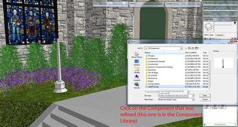 Sketchup Layout Xref | reload xref type effect for sketchup using components