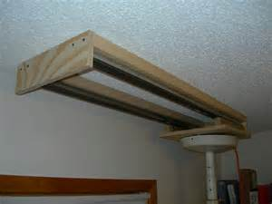 ceiling mounted roller track system get up and diy
