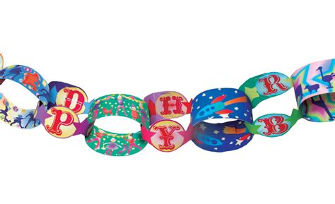 Paper Chains - eeboo birthday paper chain