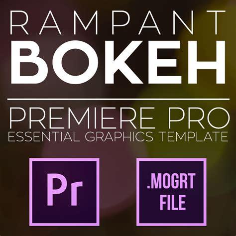 Premiere Mogrt Templates Archives Rant Design Premiere Pro Essential Graphics Templates
