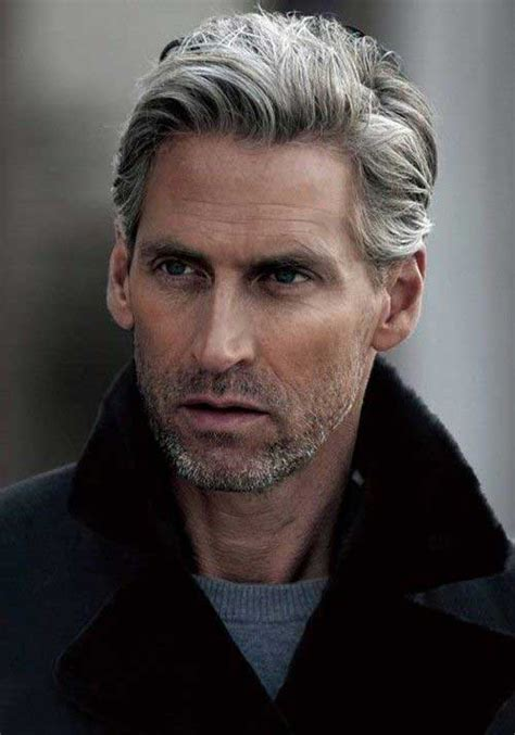over 50 male gray hair 15 cool hairstyles for older men mens hairstyles 2018