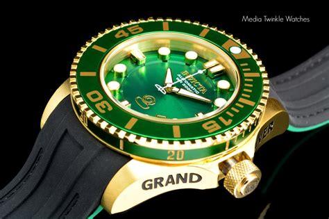 Swiss Navy 8930 Black new invicta 47mm grand diver 2 ii automatic gold tone