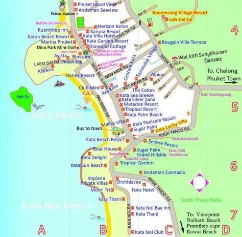 karon resort map kata map