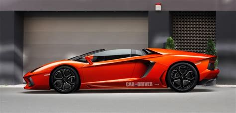 Lamborghini Aventador Roadster Likely to Debut in Geneva