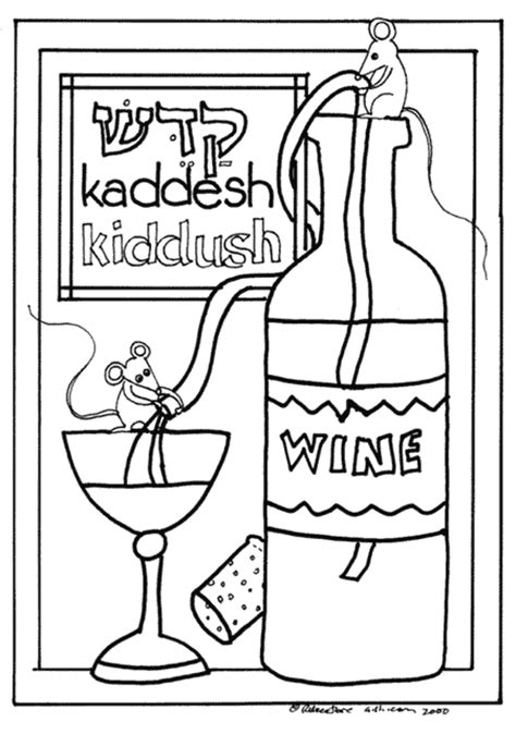 printable toddler haggadah free coloring pages of passover seder