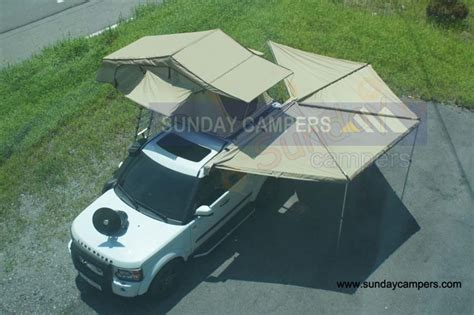 Road Vehicle Awnings by China 4wd Road Car Roof Tents With Swing Out Awning