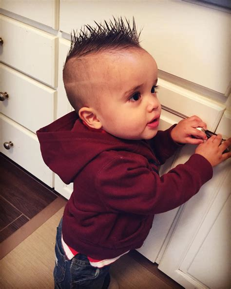 Infant Hairstyles by 50 Baby Boy Haircuts For Your Lovely Toddler 2018