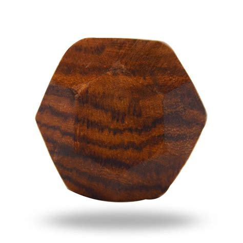 Decorative Wooden Knobs by Wooden Faceted Decorative Door Knob Looking Furniture