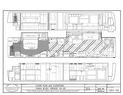 prevost floor plans 2017 prevost marathon x3double slide 1251
