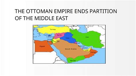 the ottoman empire was ruled by the ottoman empire partition