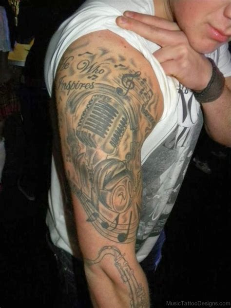 cool music tattoos 51 funky tattoos