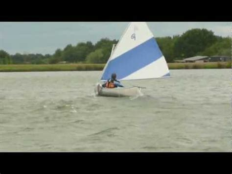 sailing canoe force  wind grumman canoe youtube