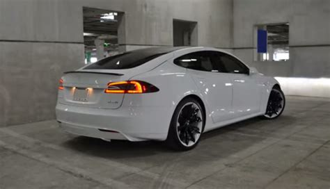 Custom Tesla Mc Customs Unveils Gorgeous Custom Tesla Model S P85d