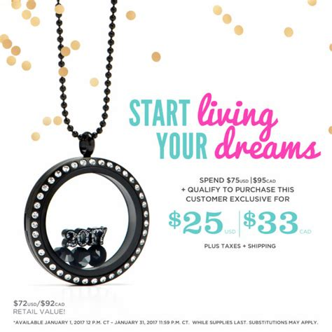Origami Owl San Diego - january 2017 exclusives for those who shop host or join