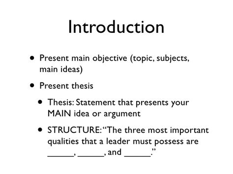 une academic writing introduction paragraphs academic skills