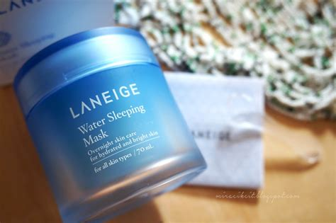 Laneige Water Sleeping Mask Malaysia review laneige water sleeping mask in malaysia scribbledydum mira cikcit