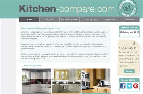 kitchen comparison site launches kitchens kitchens kbb news