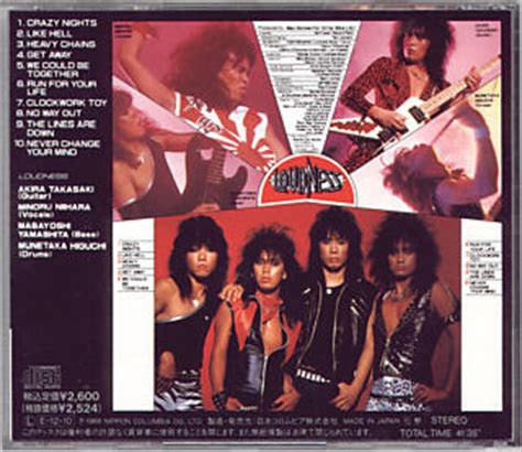 Vinyl Loudness Thunder loudness thunder in the east remastered cd review