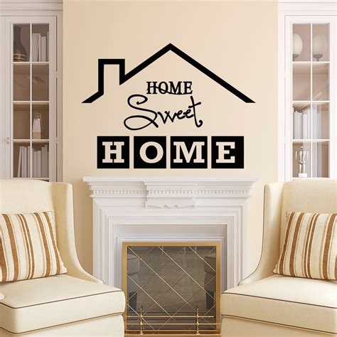 sweet home decoration home sweet home wall decal quote home sweet home sign vinyl